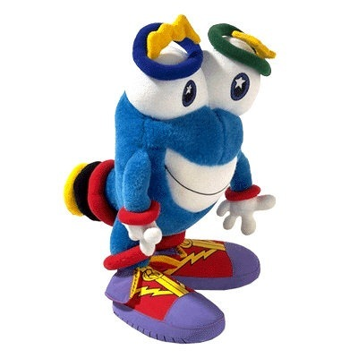 """""""Izzy"""" was the mascot for the 1996 Summer Games in Atlanta, Ga. Its name was short for """"Whatizit?"""" because no one seemed to know what it was."""