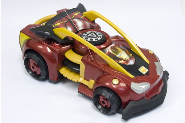Iron Man 2 R/C Whip-It Racer