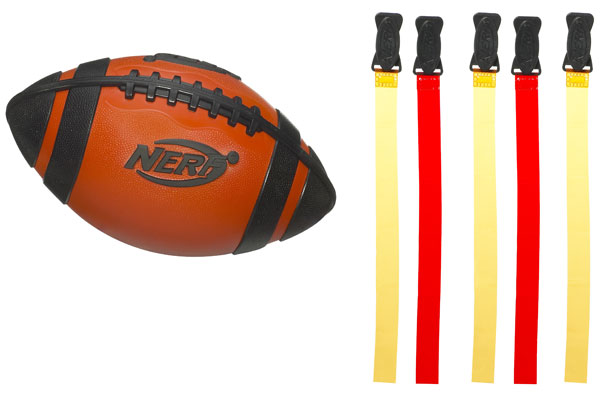 Nerf Weather Blitz Flag Football Set