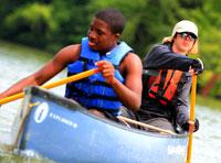100-mile canoe trip