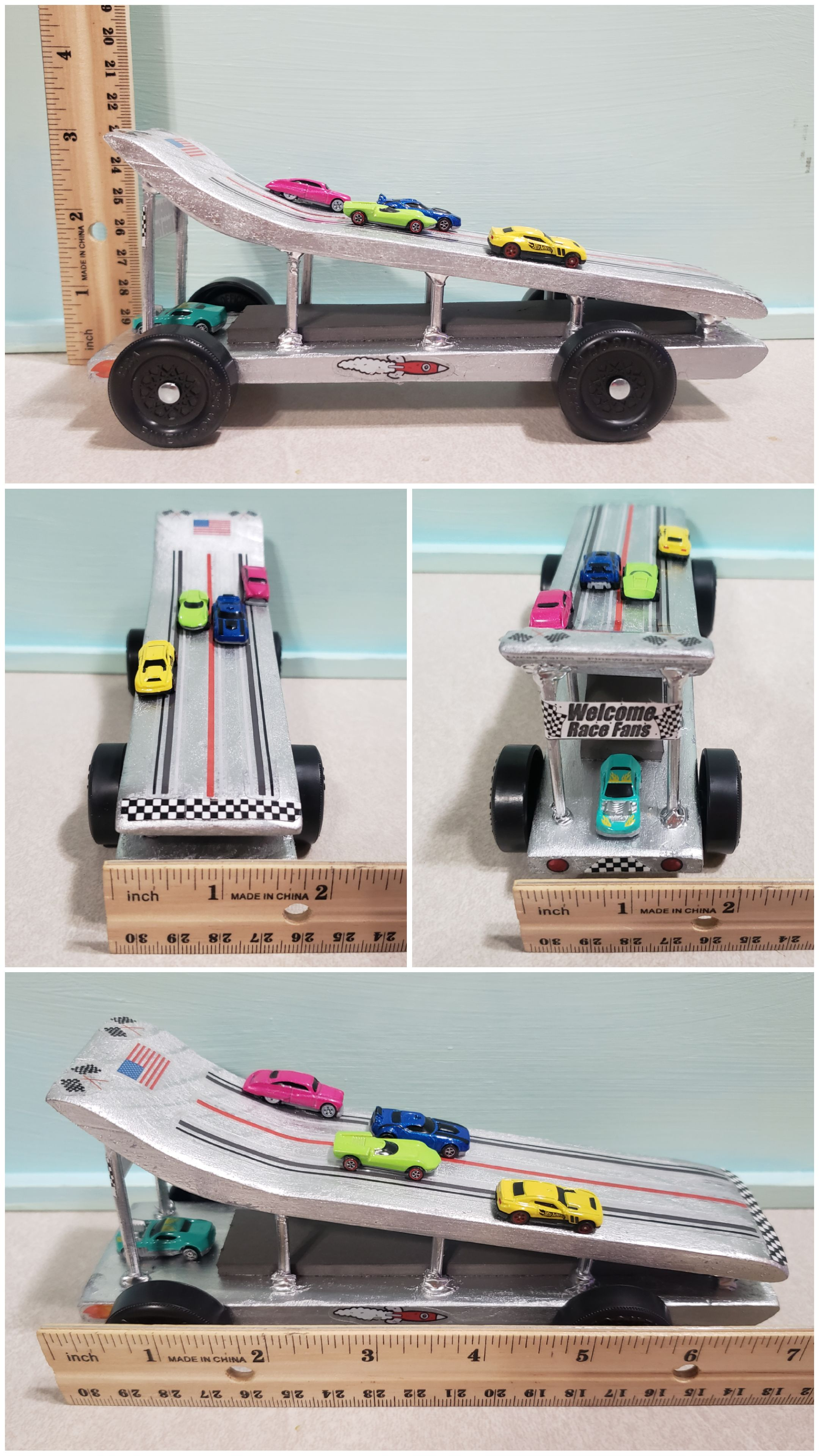 The Pinewood Derby Racer