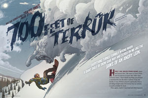 700 Feet of Terror story