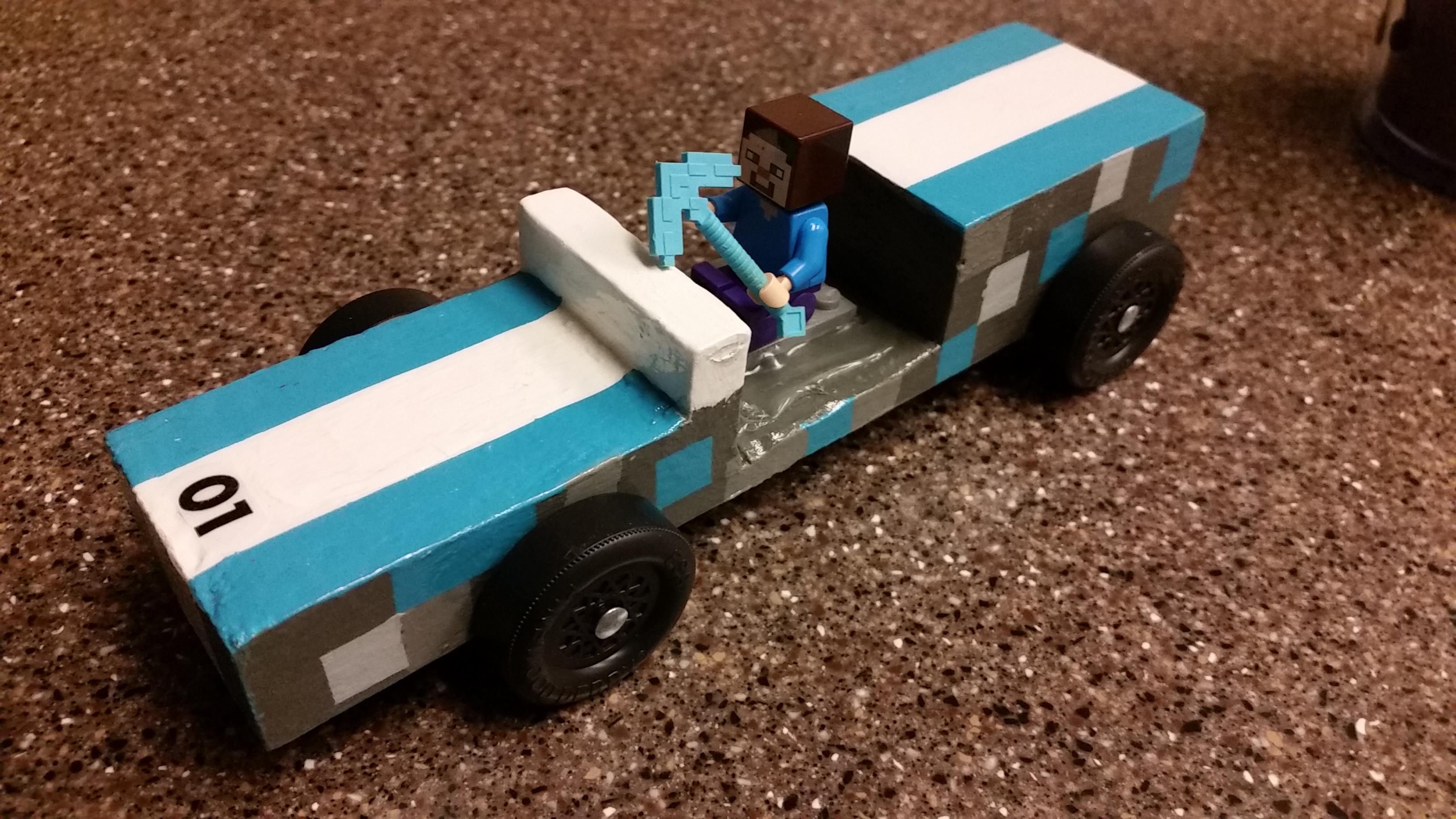 Diamond Ore Derby car