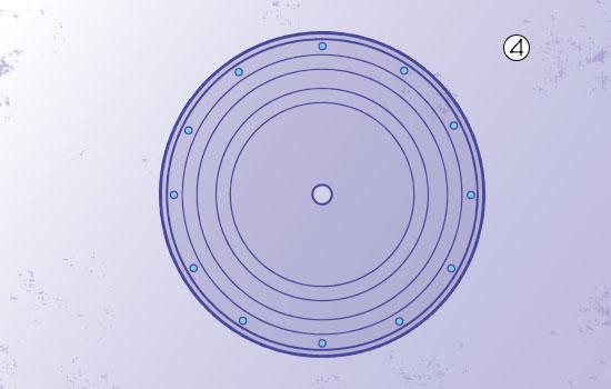 bottle-cap disc-golf step 4