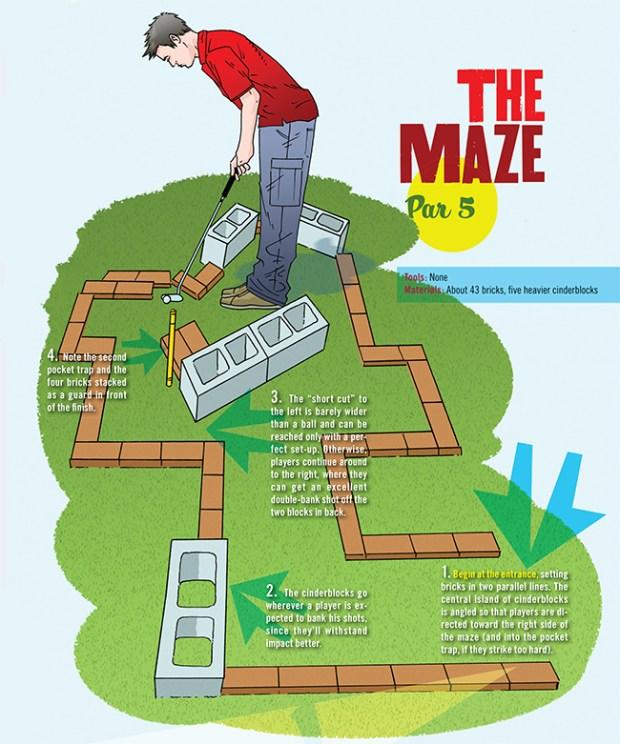 golf-maze