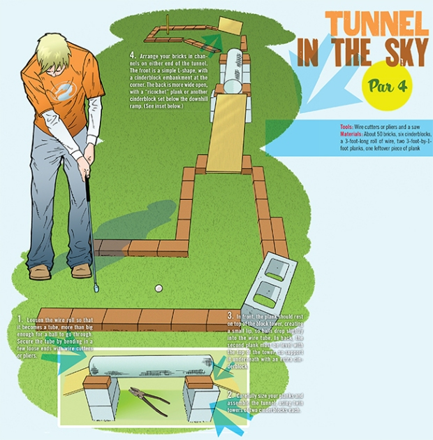 golf-tunnel