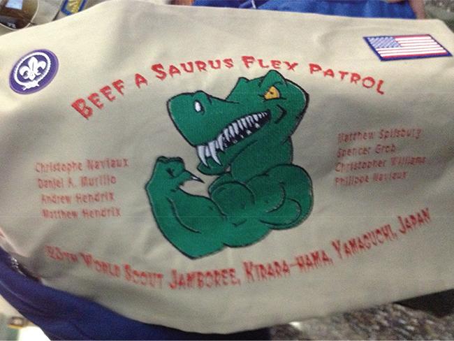 Beef a Saurus Flex Patrol
