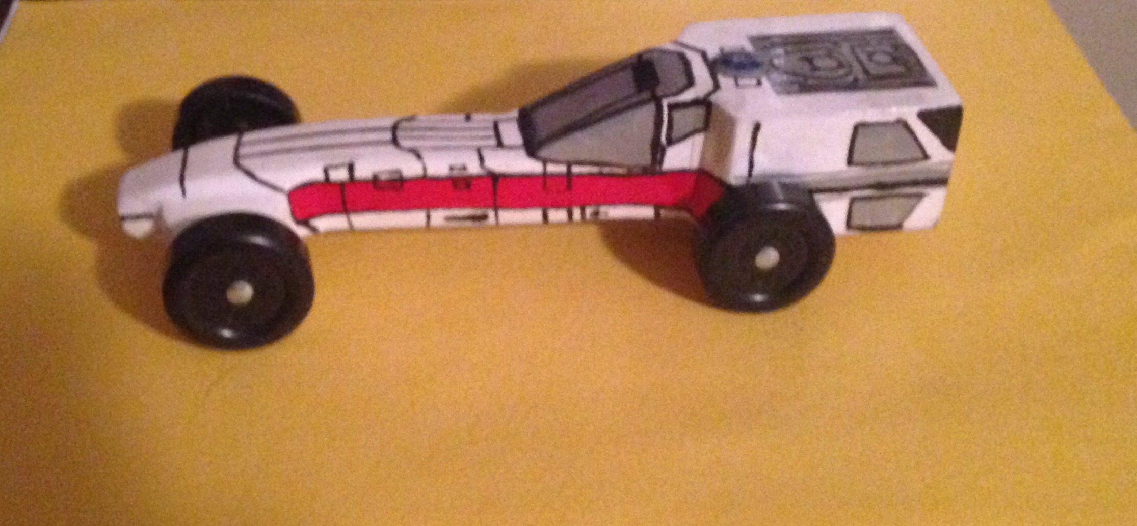 Tommy's X-wing Fighter