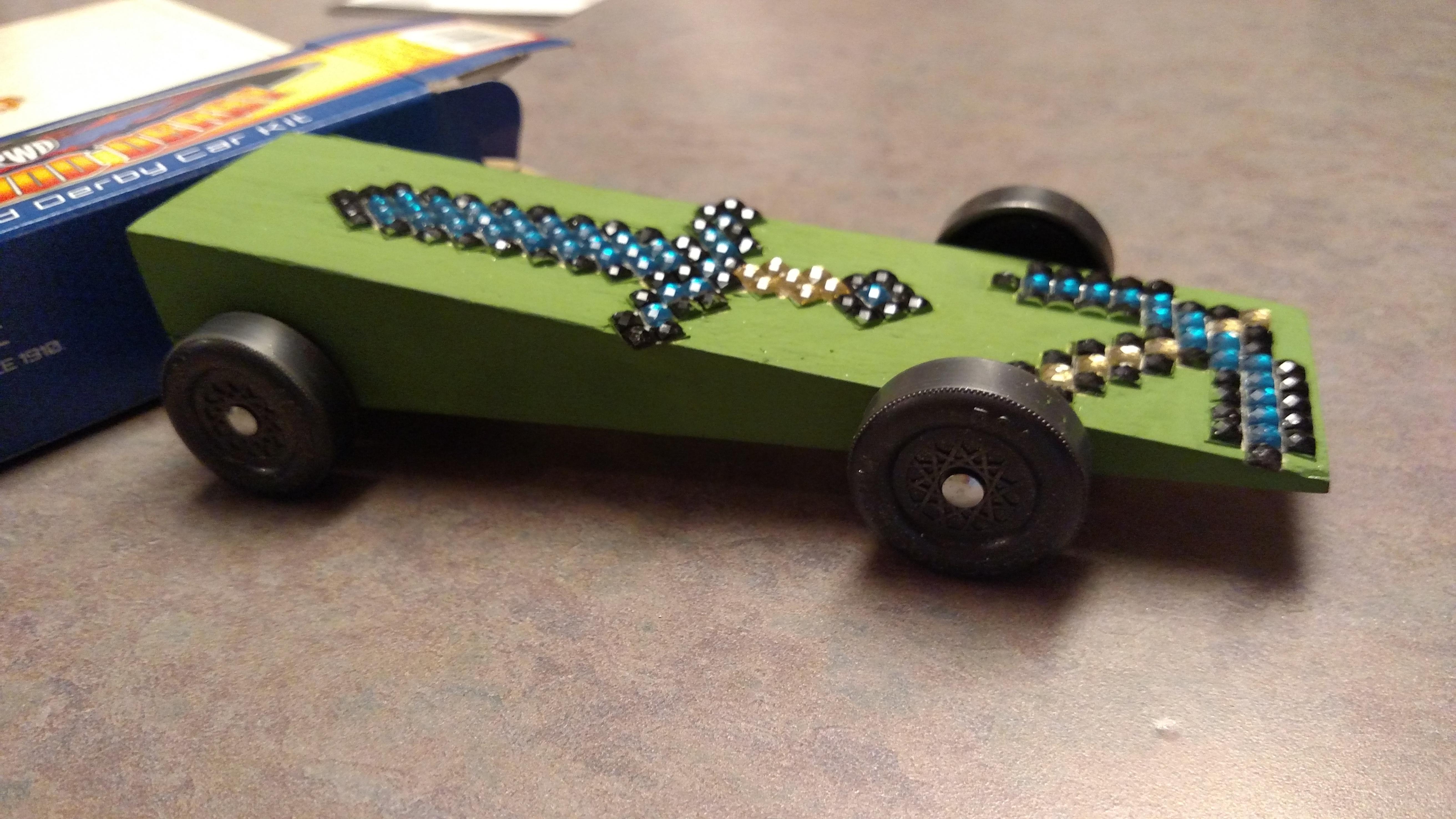 Minecraft Sword & Axe Car