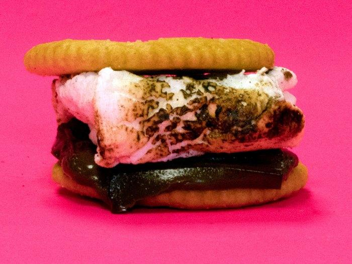 Ritz Cracker Smore