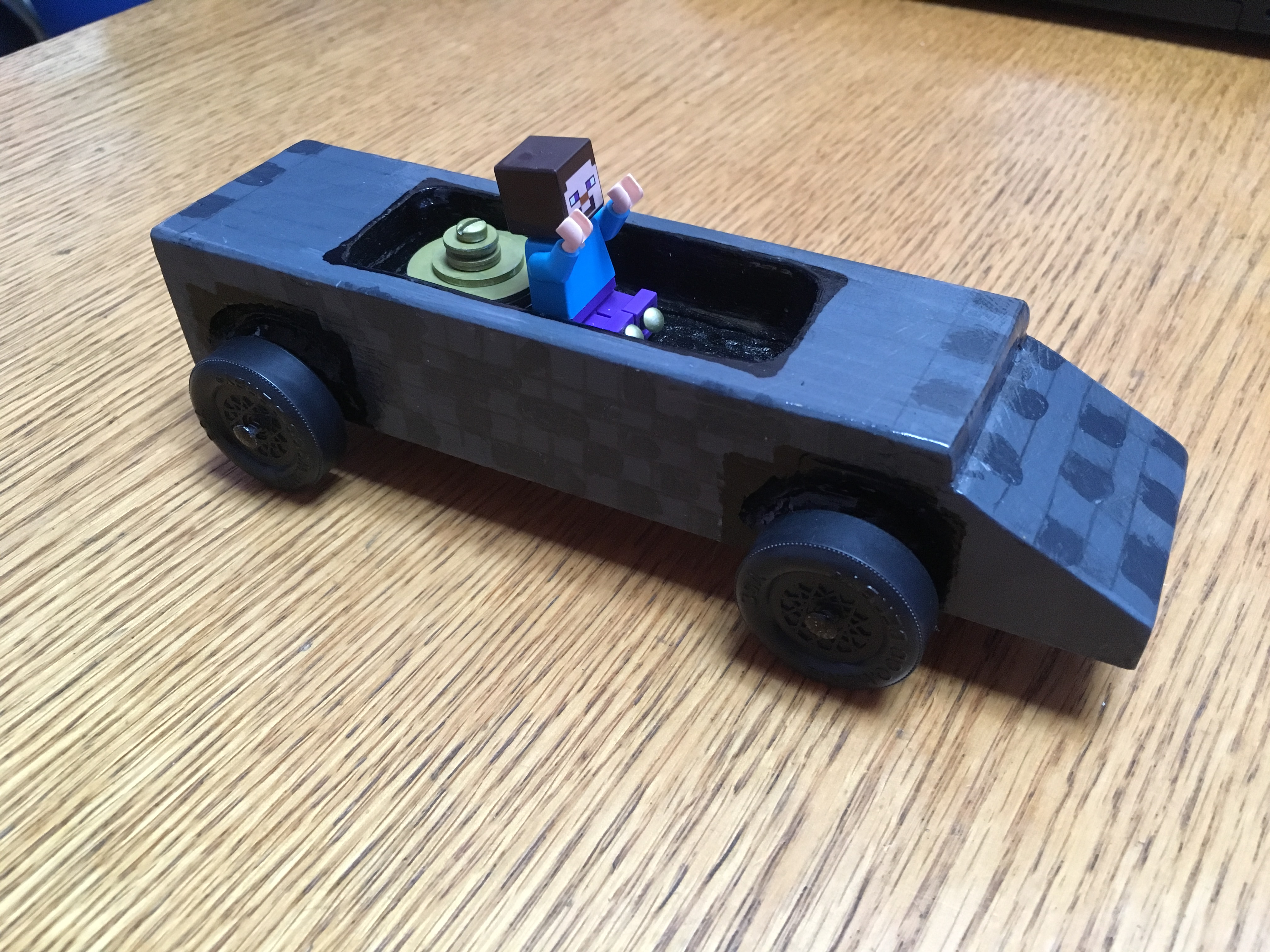 The Minecart Racer