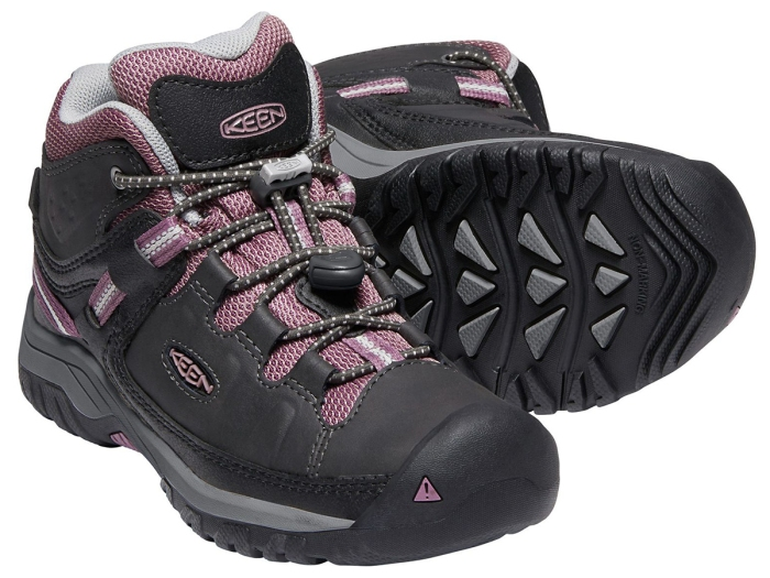 KEEN KIDS' TARGHEE WATERPROOF LOW-CUT SHOES