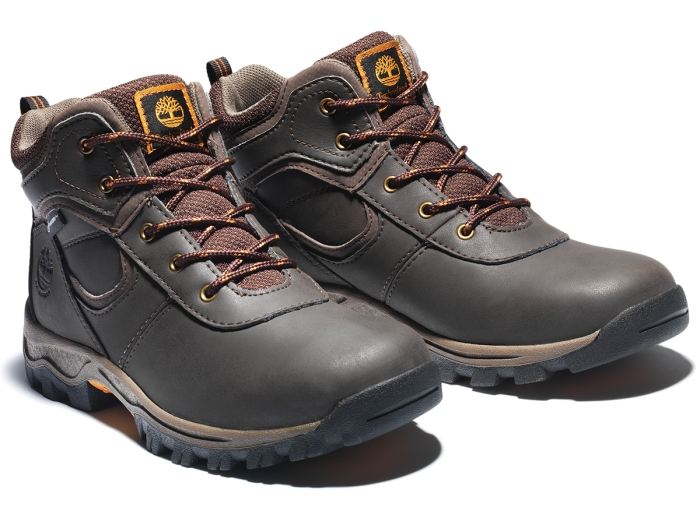 TIMBERLAND JUNIOR MT. MADDSEN WATERPROOF HIKING BOOTS