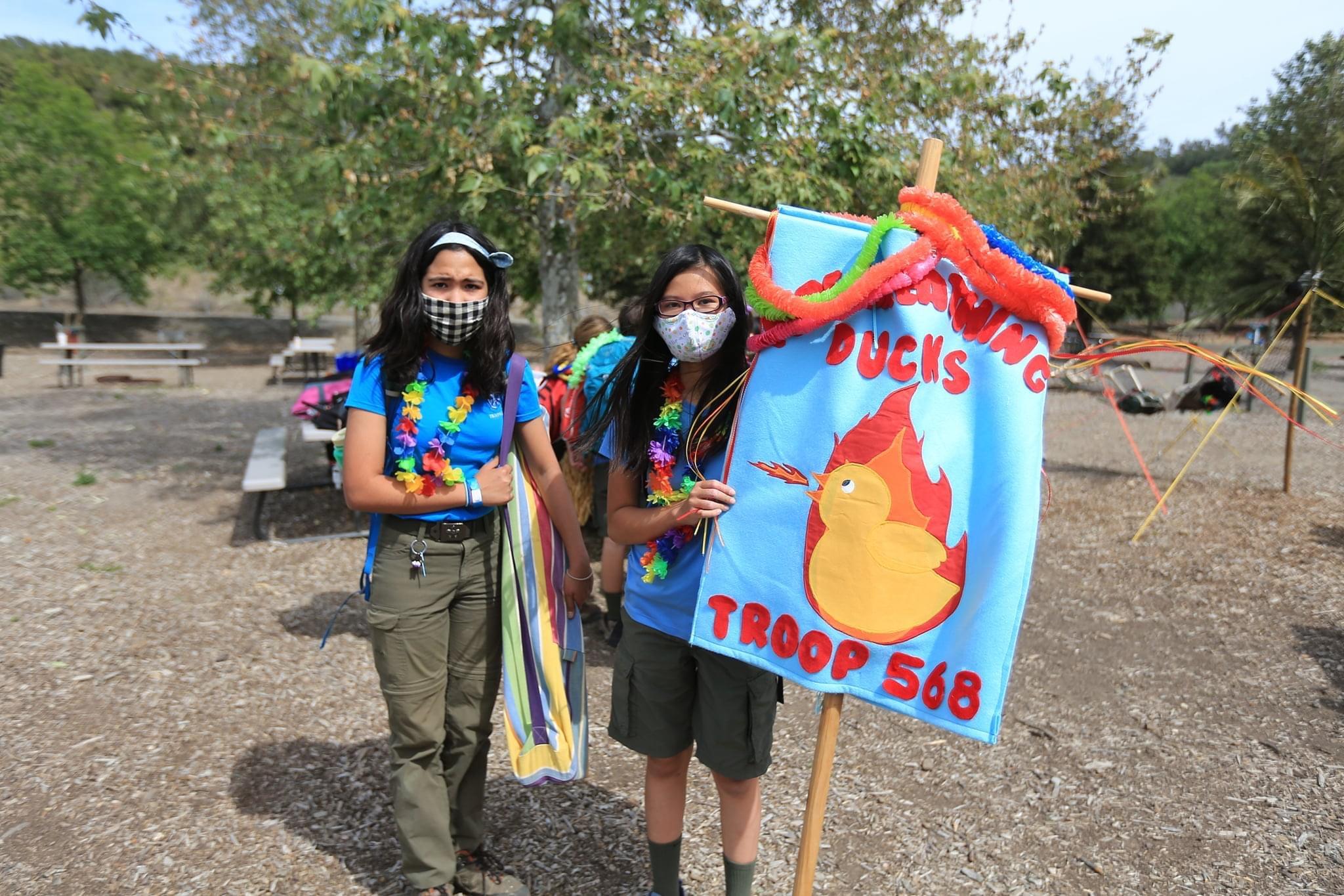 Fire Breathing Duck's, Troop 568g