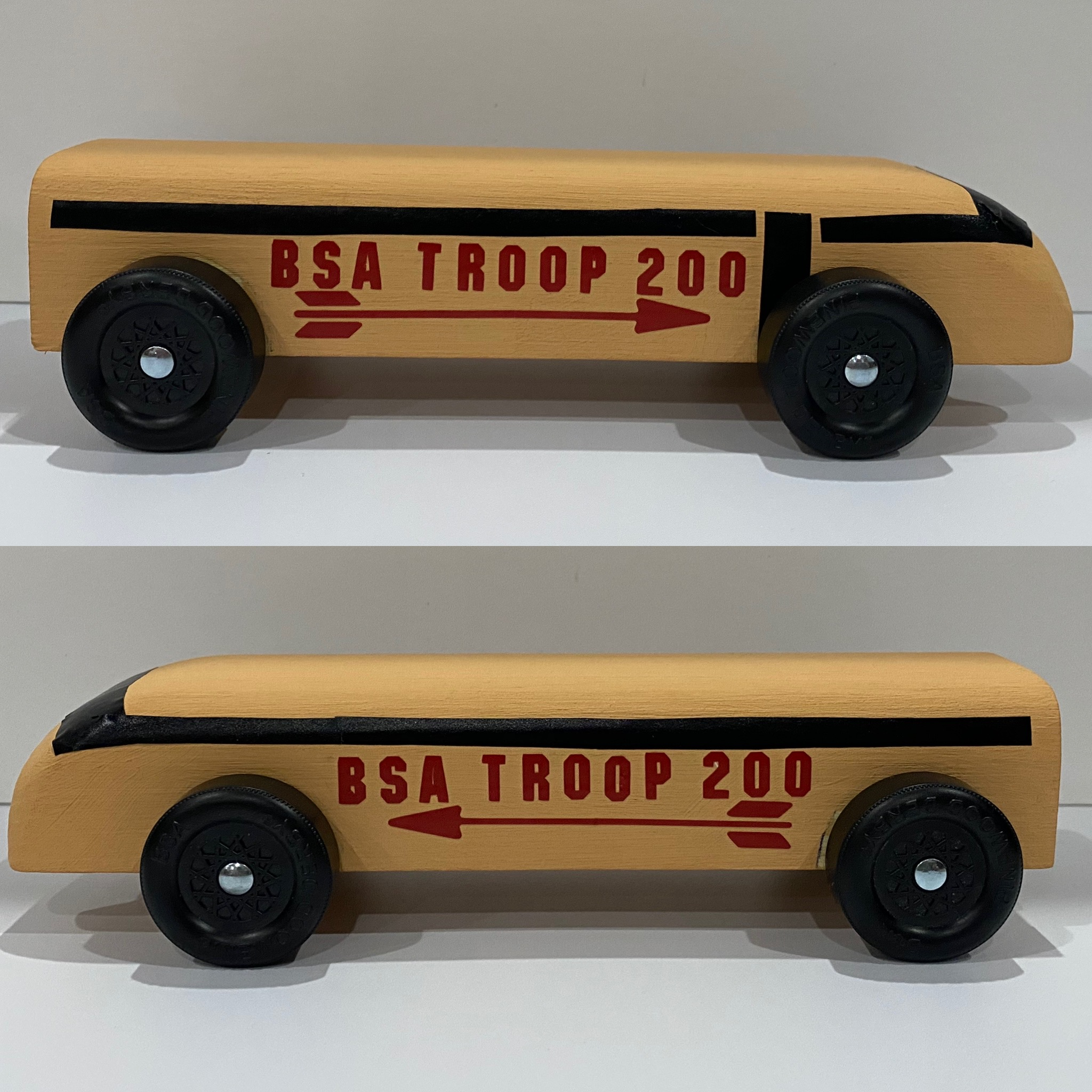 Troop 200 bus