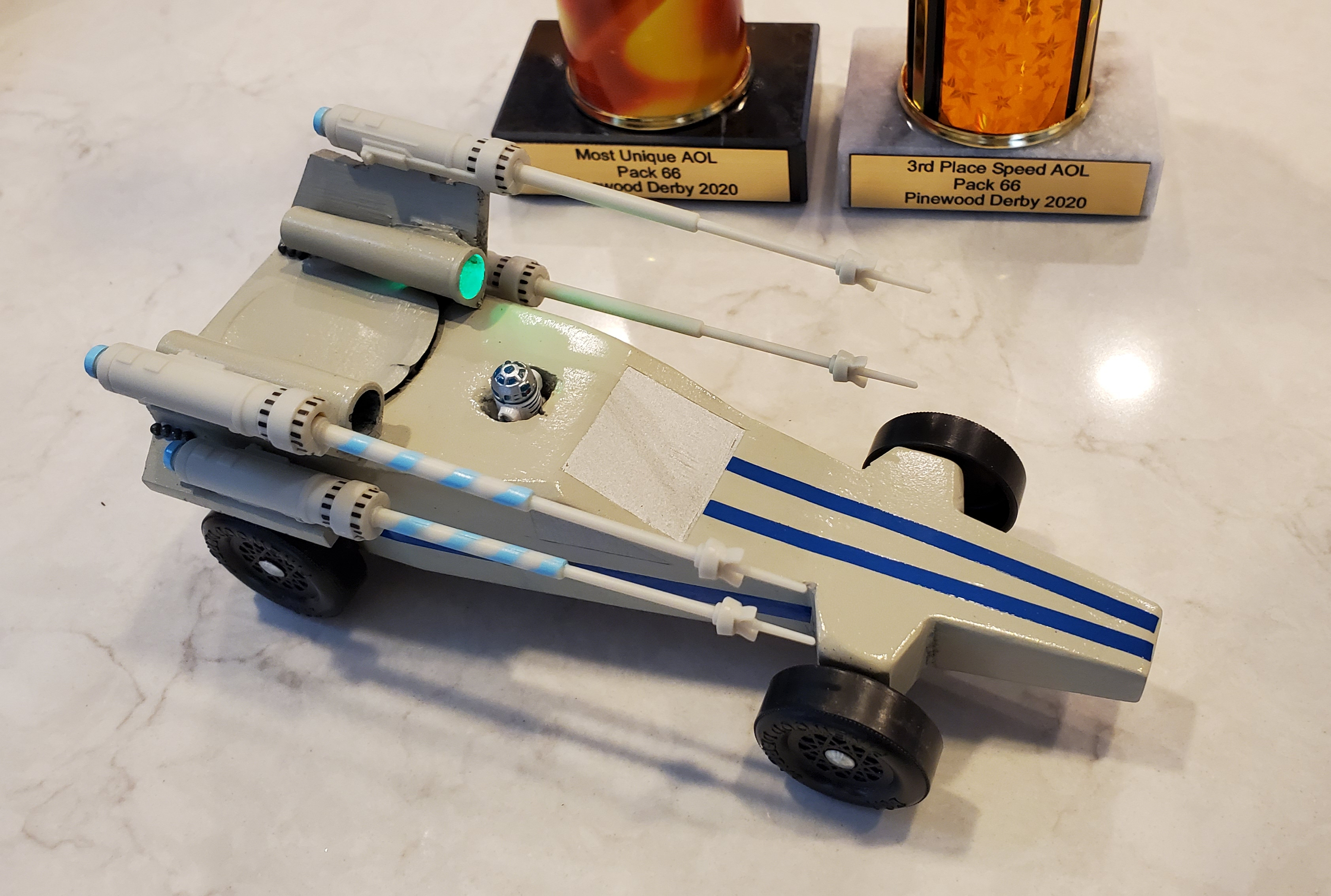 T-65 X-wing fighter