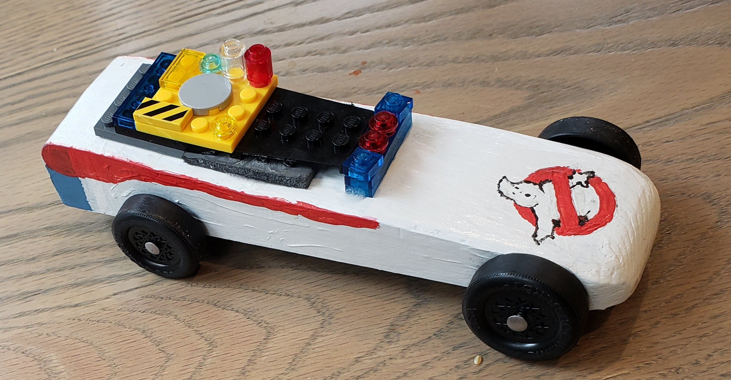 Ghostbusters Derby Car