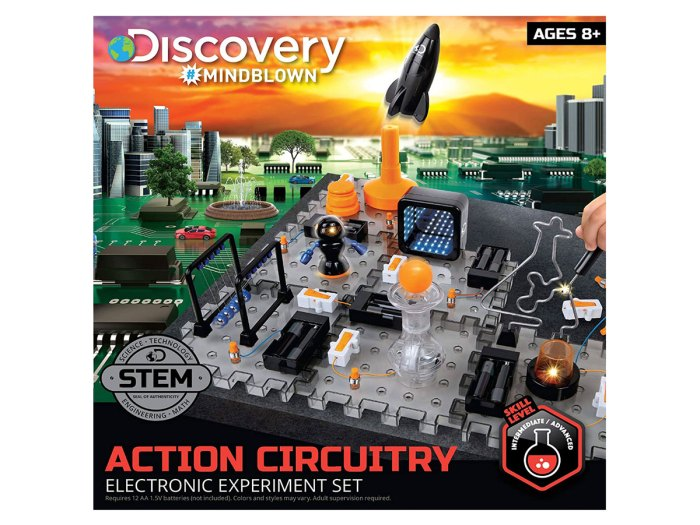 Discovery Mindblown Action Circuitry