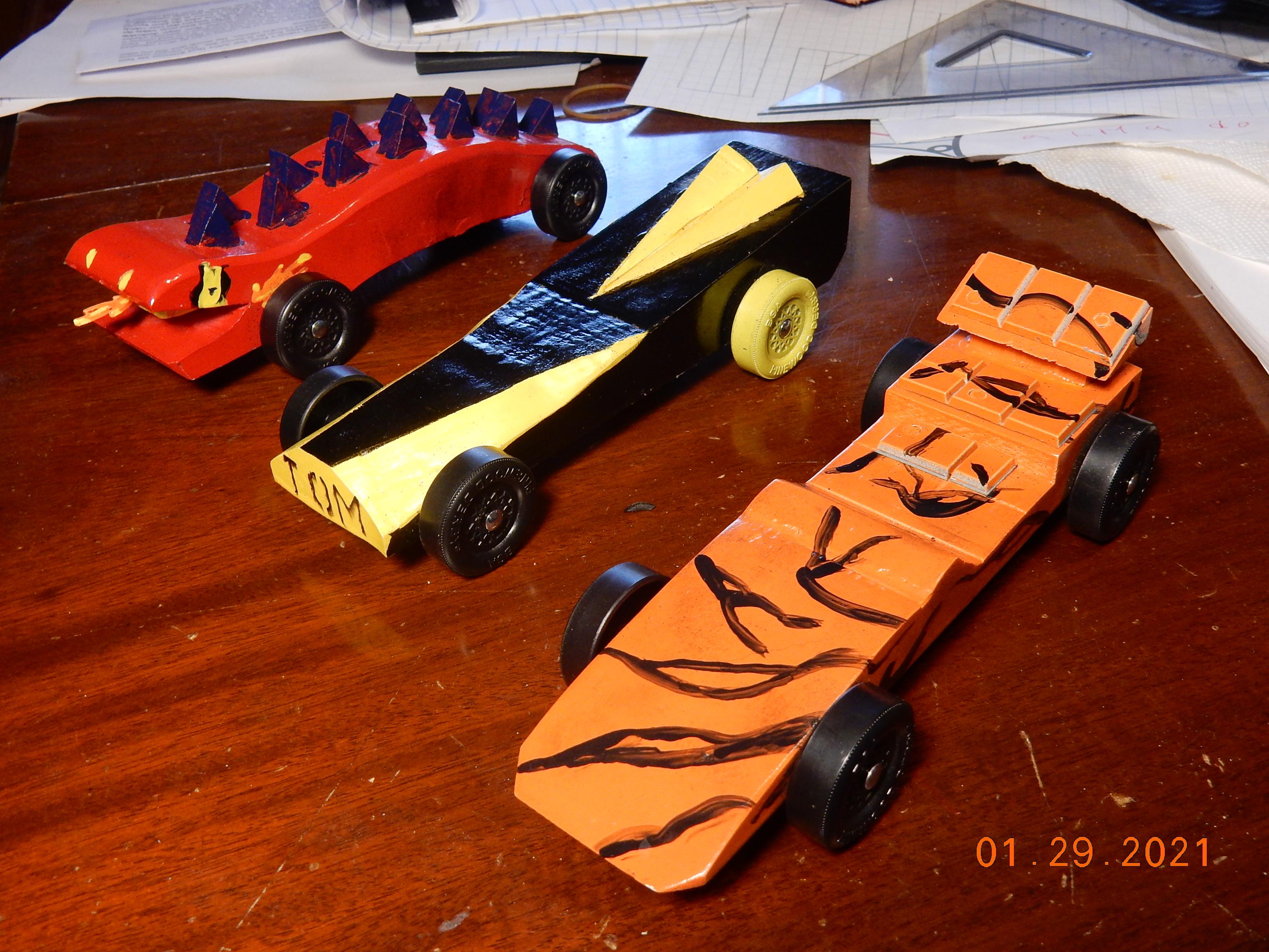 Fire Lizard, The Hornet, Tiger Car