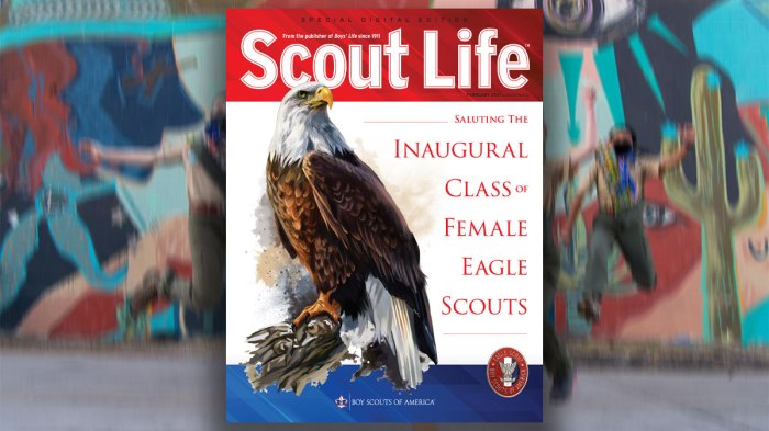 Special Edition of Scout Life Celebrates Female Eagle Scouts