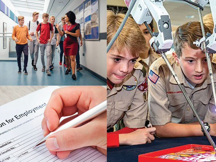 How to Include Scouting on Job or College Applications