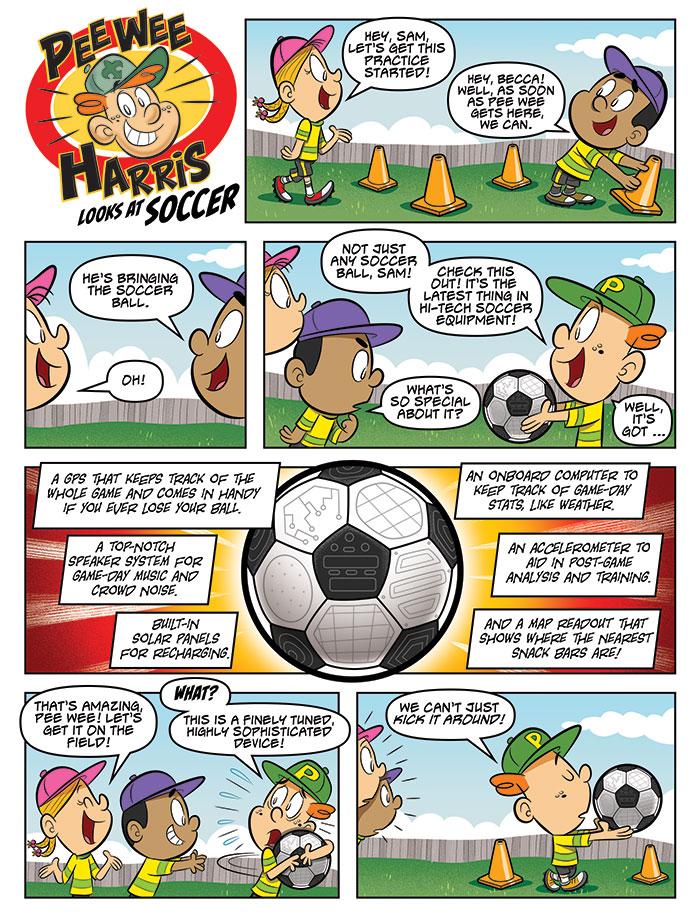 Pee Wee Harris Looks at Soccer (Oct. 2021)