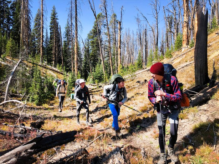 Troop Discovers More Than Just Natural Beauty in Yellowstone's Backcountry